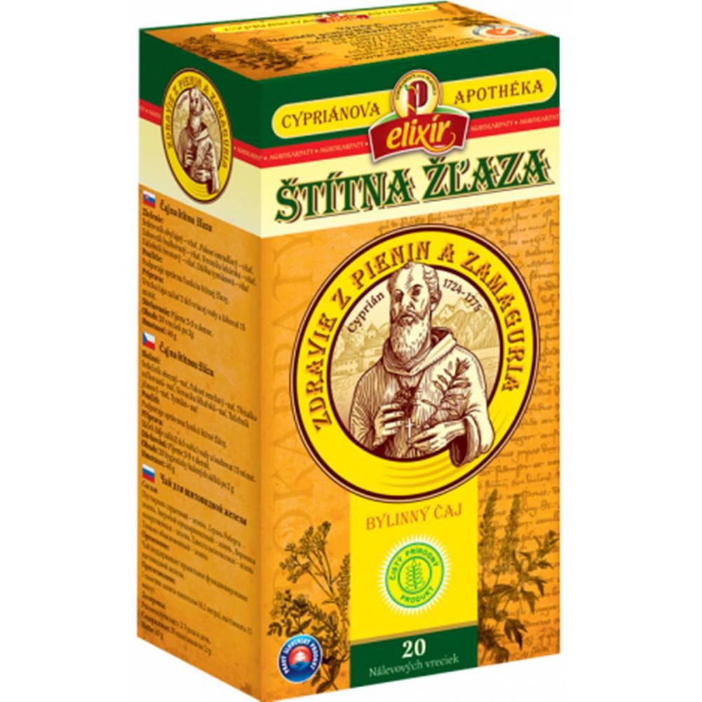 AGROKARPATY, s.r.o. Plavnica (SVK) AGROKARPATY CYPRIÁN, ŠTÍTNA ŽĽAZA bylinný čaj 20x2 g (40 g)
