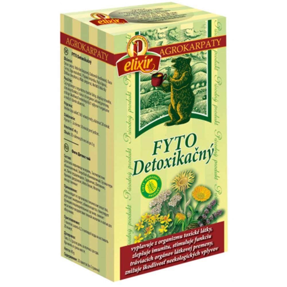 AGROKARPATY, s.r.o. Plavnica (SVK) AGROKARPATY FYTO ČAJ detoxikačný, 20x2 g (40 g)