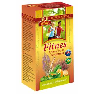 AGROKARPATY FITNES čaj so ženšenom 20x2 g (40 g)