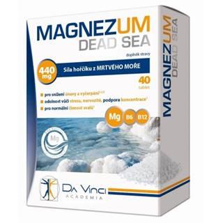 DA VINCI MAGNEZUM DEAD SEA 40 tbl