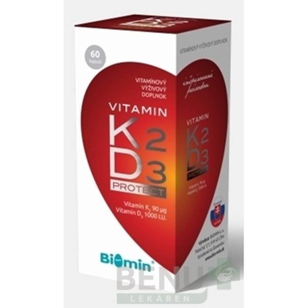 Biomin BIOMIN Vitamín K2 + D3 protect 60 kapsúl