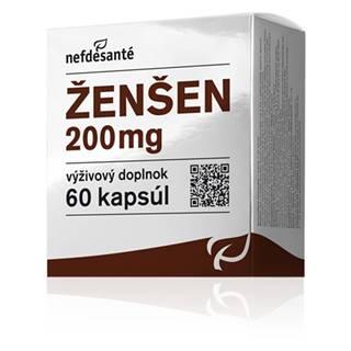 nefdesanté Ženšeň 200 mg 60 cps