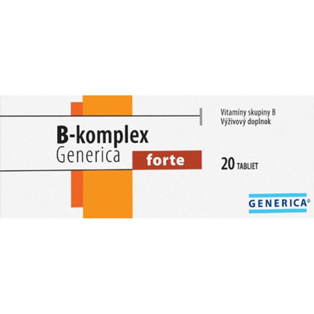 Generica Generica B - Komplex forte 20 tabliet