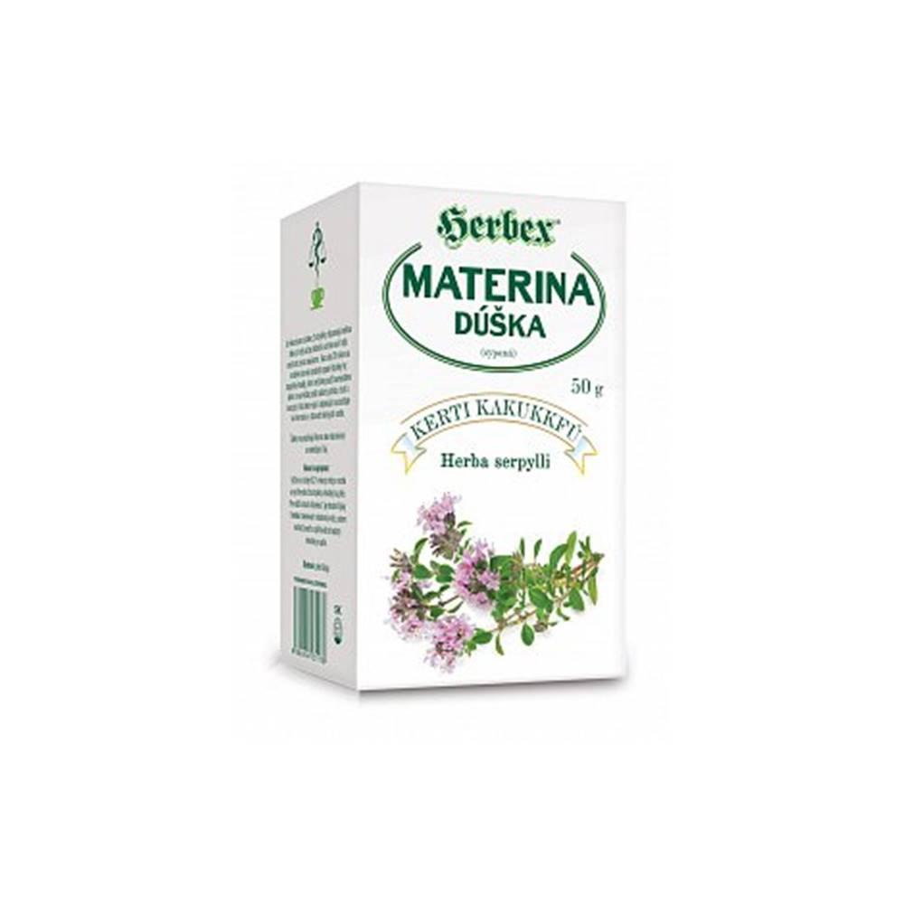 Herbex, s. r. o. Herbex Materina dúška sypaný čaj 50g