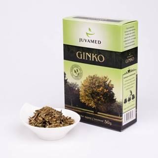 Juvamed GINKO BILOBA - LIST sypaný čaj 50 g