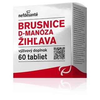nefdesanté Brusnice, D-manóza, žihľava 60 cps