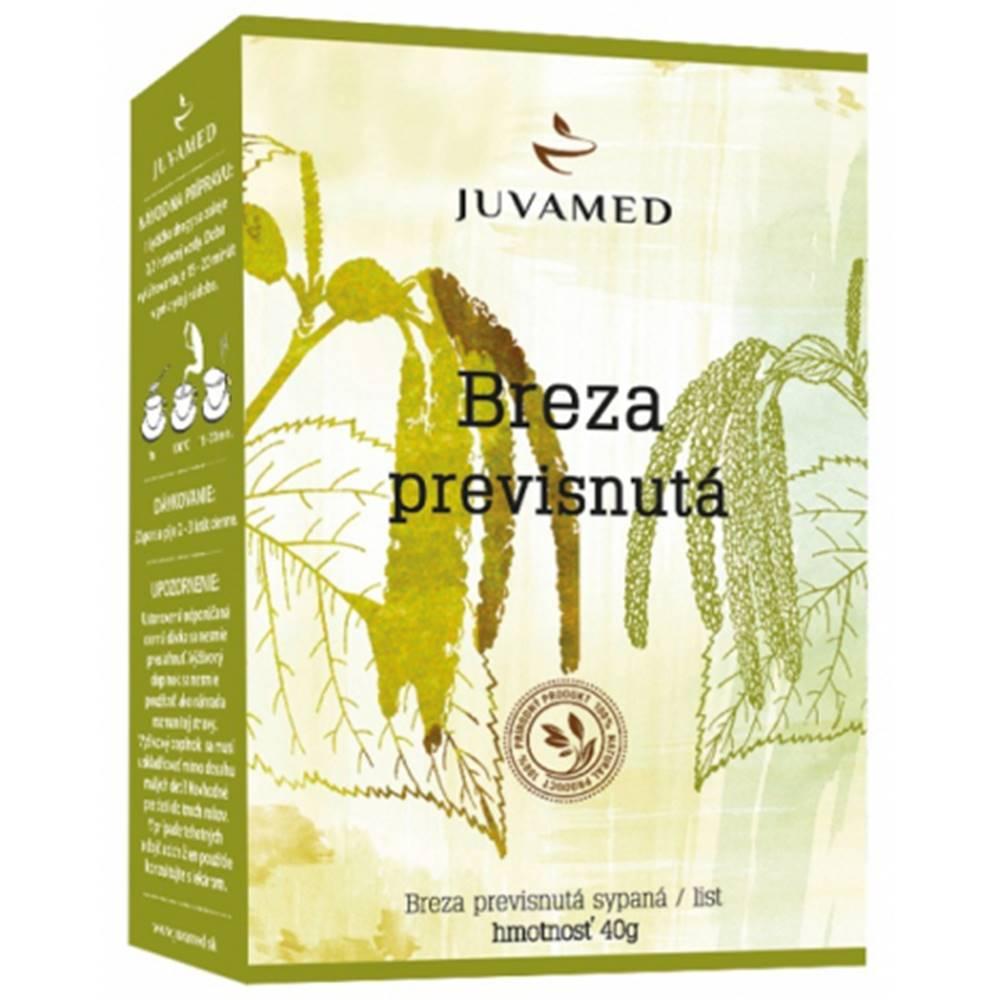 Juvamed Juvamed  BREZA PREVISNUTÁ - LIST sypaný čaj 40 g