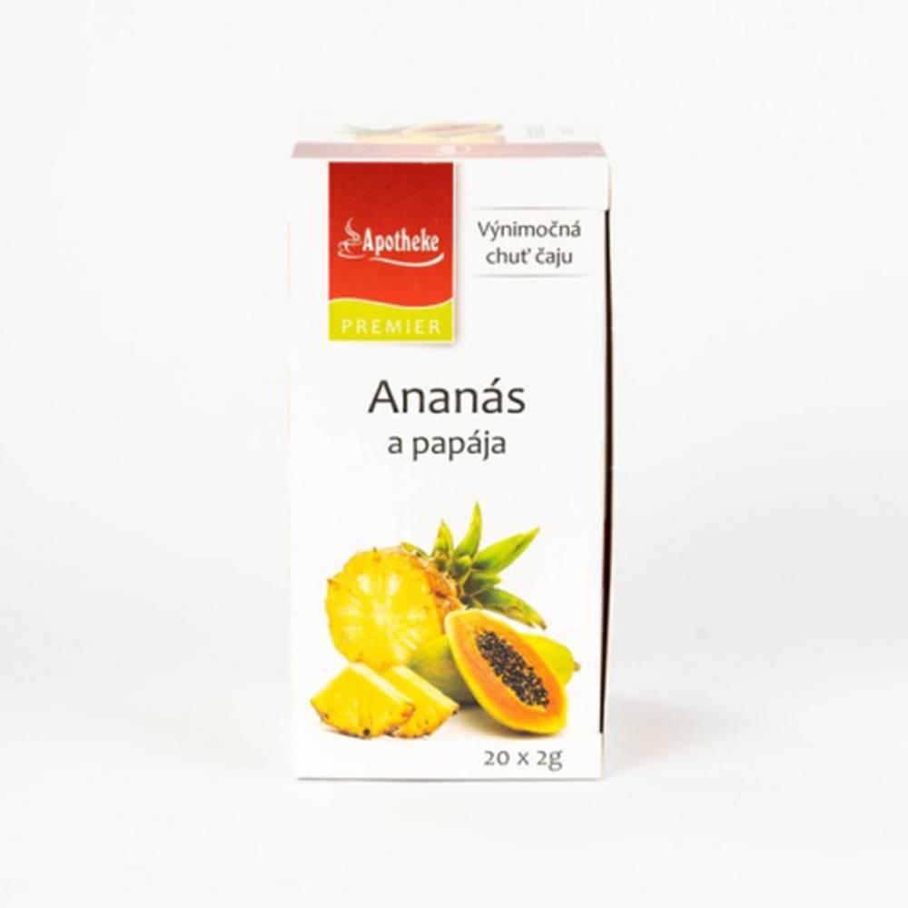 MEDIATE s.r.o. APOTHEKE čaj ananás+papája N.S.