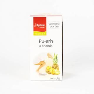 APOTHEKE PU-ERH čaj s ananásom N.S.
