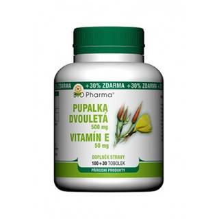 Bio Pharma Pupalka dvojročná s vitamínom E 100 + 30 cps