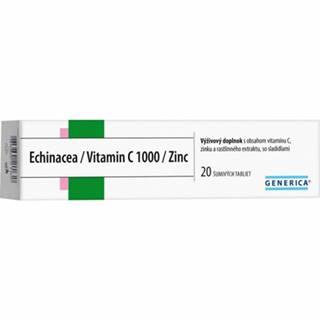 Generica Echinacea/vitamín C/ Zinok tbl EFF 20