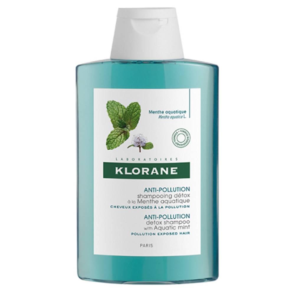 Klorane Klorane Menthe detox shampoo šampón s výťažkom z mäty vodnej 200 ml
