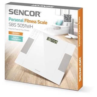 Sencor Sbs 5051wh - osobná fitness váha