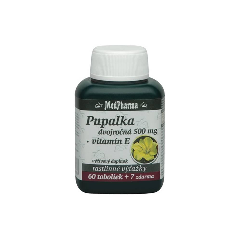 Medpharma Medpharma Pupalka dvojroČnÁ 500mg, vitamÍn e