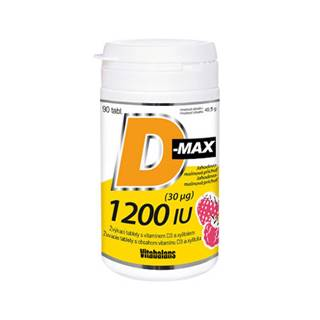 VITABALANS D-max 1200 IU (30 µg) 90 žuvacích tabliet