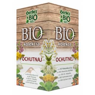HERBEX BIO kolekcia OCHUTNAJ bylinné čaje 5 druhov po 4 vrecúška