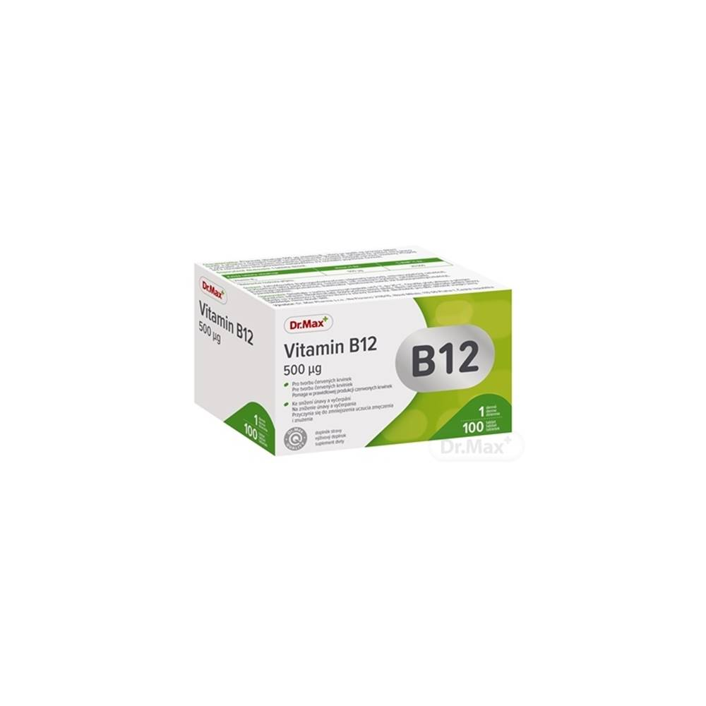 Dr.Max Dr.max Vitamín b12 500 µg (inov. 2020)