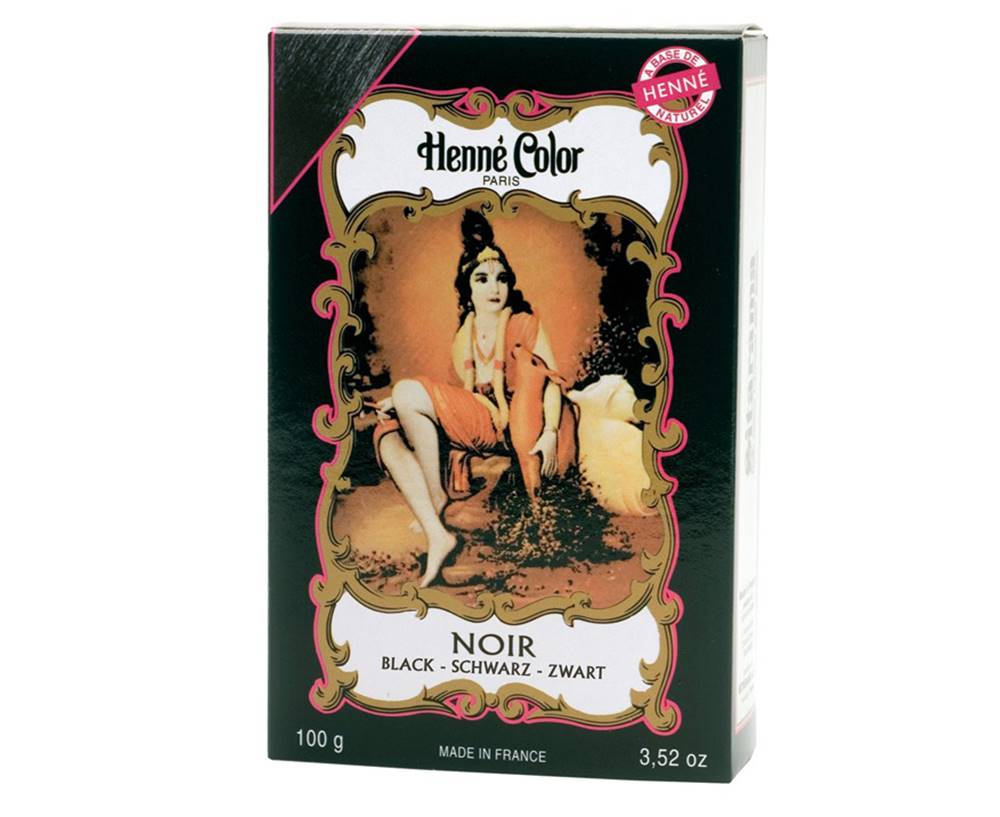 Henné Color Paris Henné Color Paris Noir Henna Powder, Henné Color 100g - Čierna