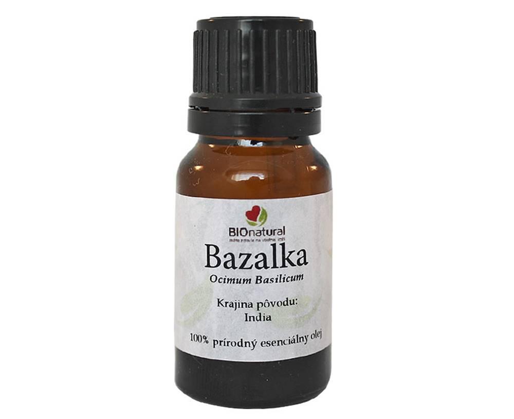 Bionatural Bionatural Bazalka, esenciálny olej 10 ml