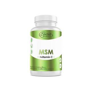 Spirit Nutrition MSM + vitamín C 140 kapsúl