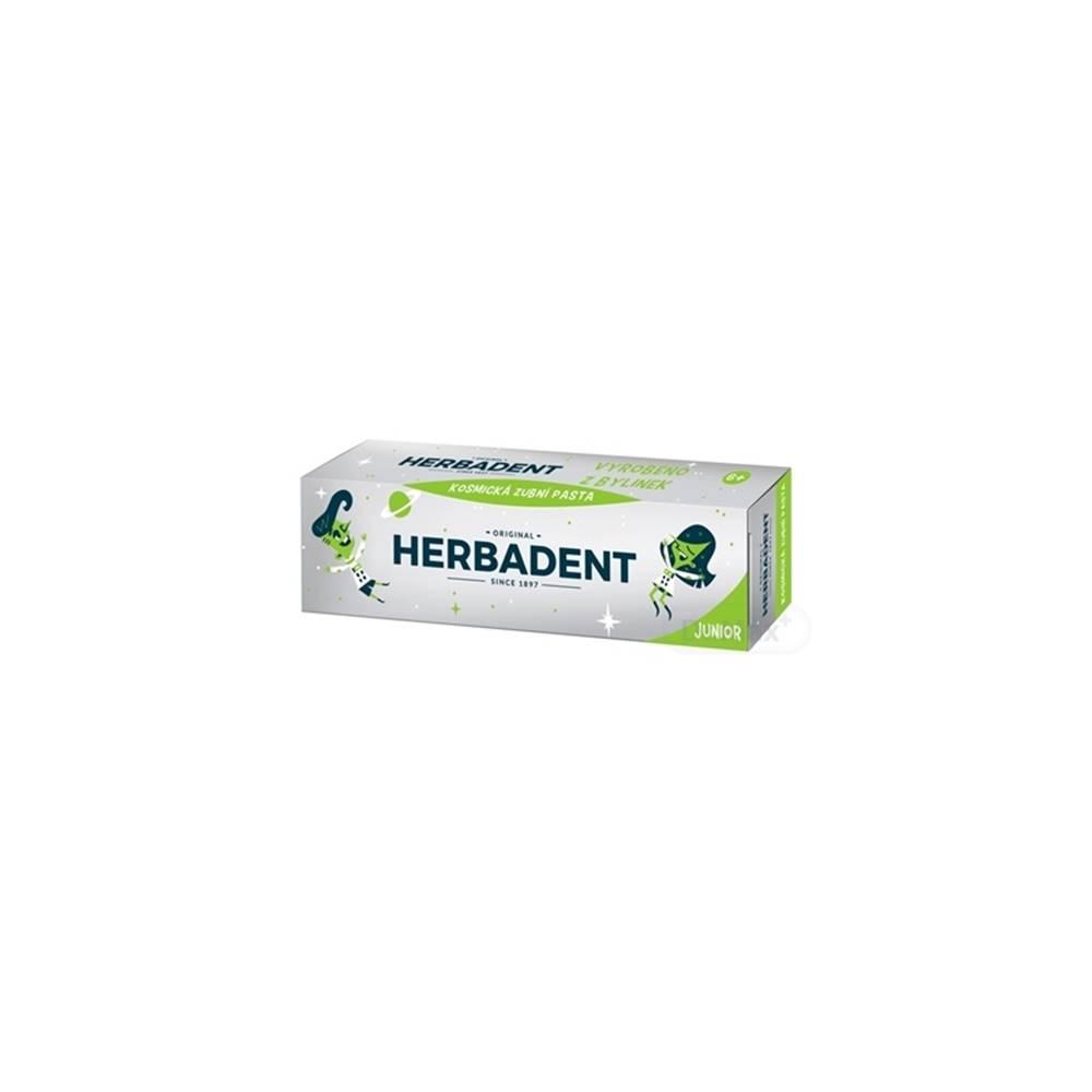 Herbadent Herbadent Originál junior kozmická zubná pasta