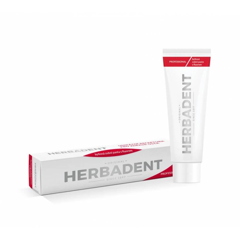 Herbadent Herbadent Professional bylinná zubná pasta