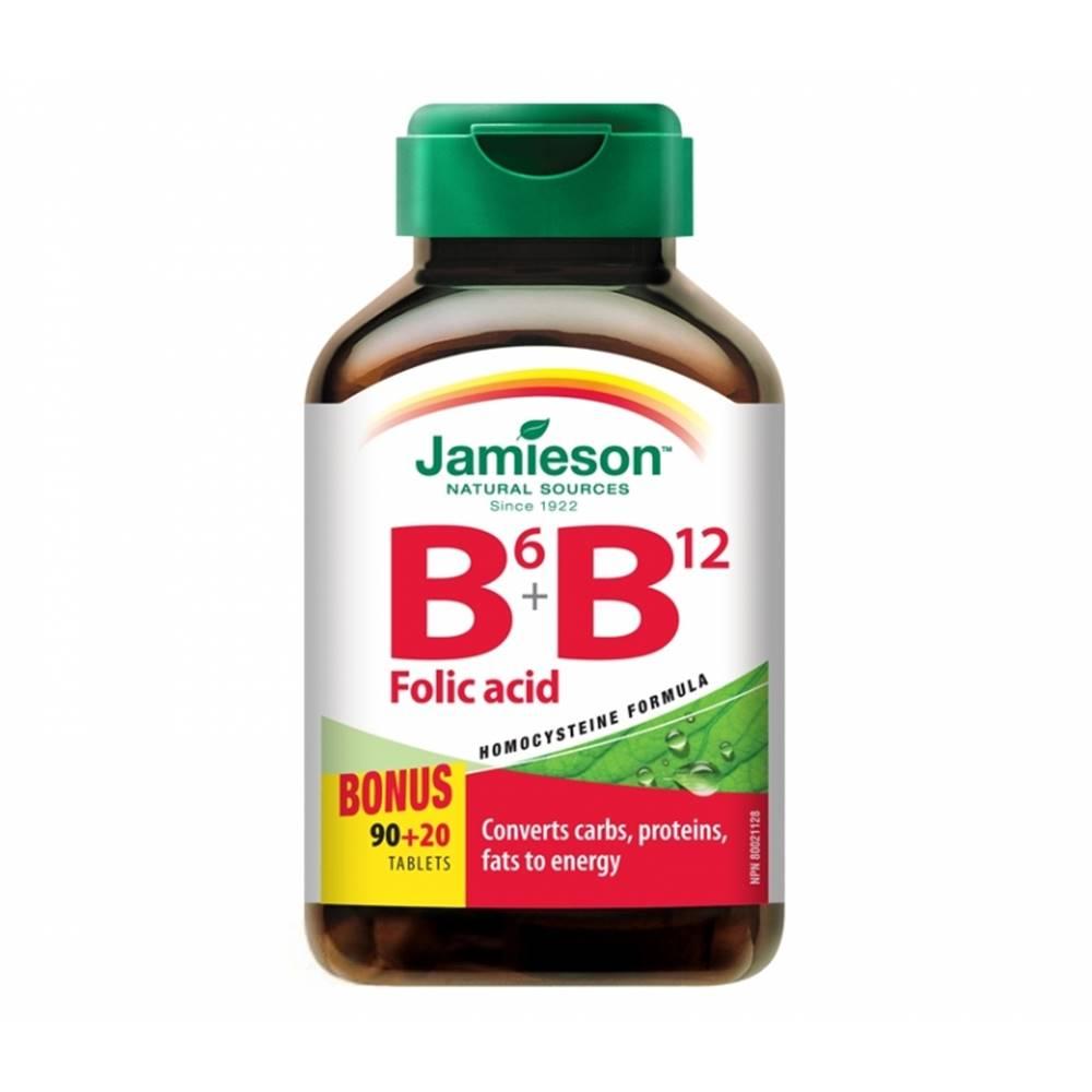 Jamieson Jamieson vitamíny b6, b12 a kyselina listová