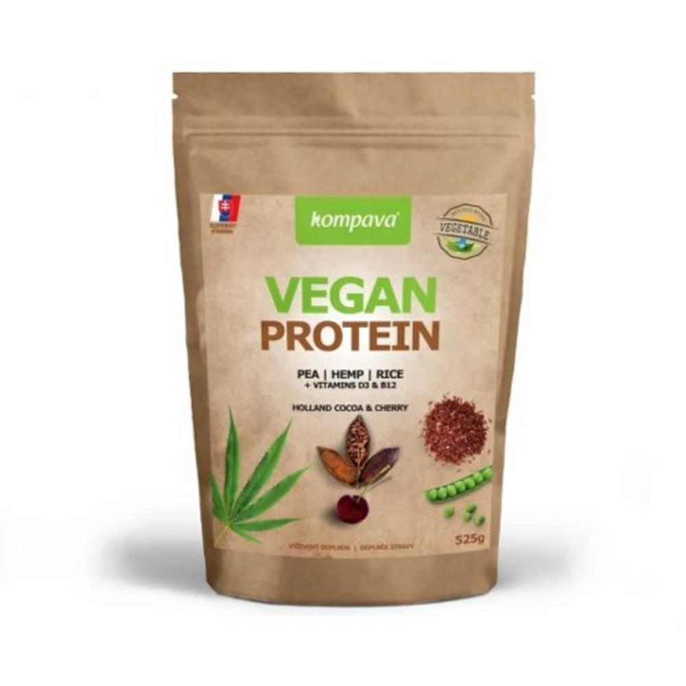 Kompava KOMPAVA Vegan protein s príchuťou čokoláda a škorica 525 g