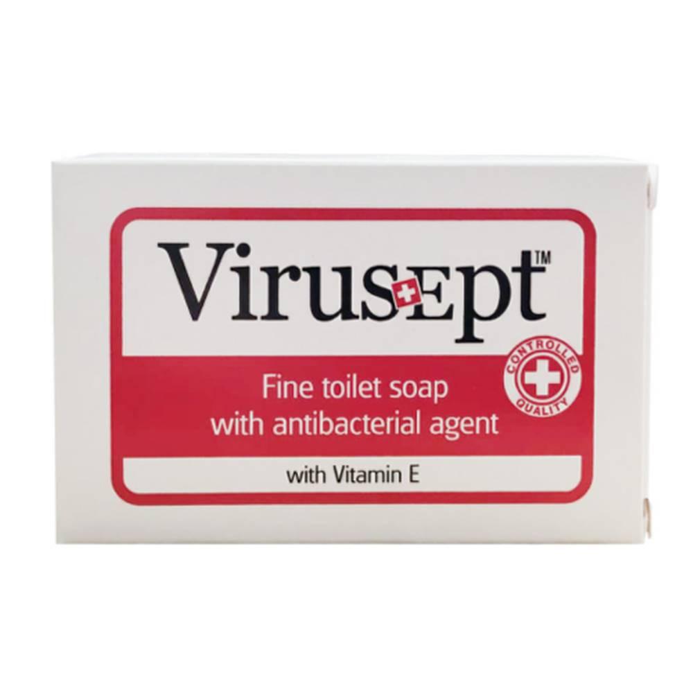 Virusept VIRUSEPT Toaletné mydlo s antibakteriálnou prísadou a vitamínom E 90 g