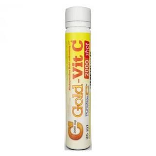 GOLD-VIT C 2000 mg shot 25 ml 5 ampúl