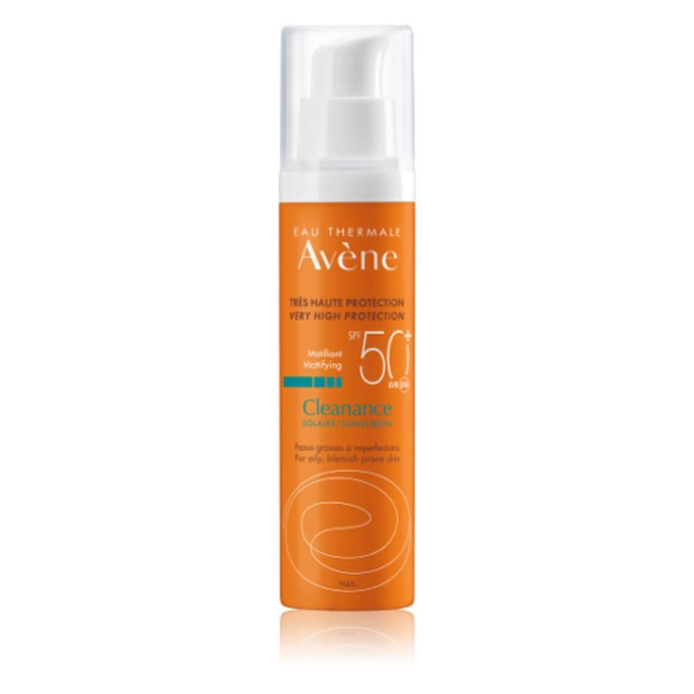AVENE EAU THERMALE AVENE Cleanance slnečná ochrana SPF 50+ pre citlivú pleť 50 ml