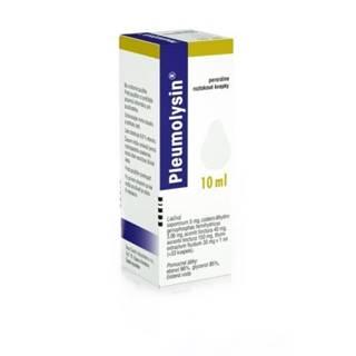 PLEUMOLYSIN Kvapky 10 ml