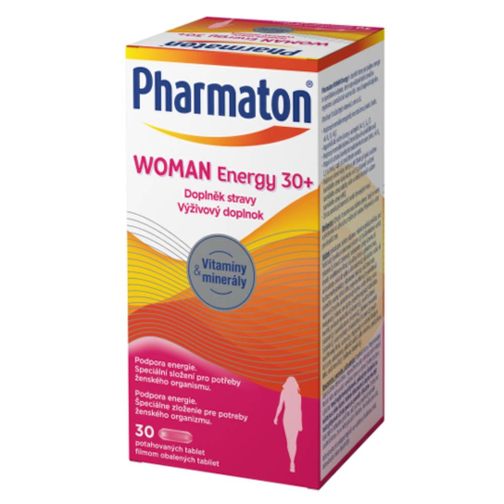Sanofi PHARMATON Woman energy 30+ 30 tabliet